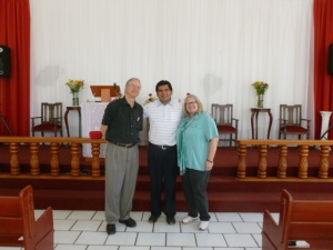 Pastor Octavio Reyes occupies an apartment in the Ahualulco Church