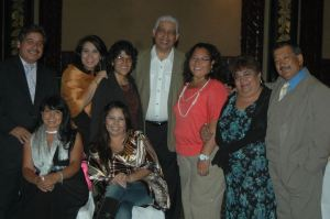 Rev. Felix Ortiz with Aguascalientes seminary (SEBA) graduates and friends