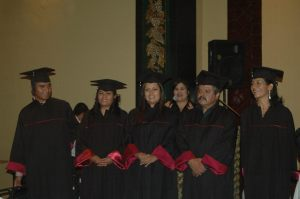 "A few of the graduates in the ""Rev. Felix Ortiz Graduating Class"""