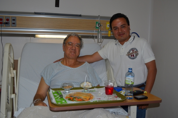 Doug with Dr. Humberto Gonzalez Mercado.  San Luis Potosi's med school where he trained is hailed as among the best in Mexico.