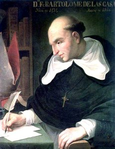 Father Bartholomew de las Casas was converted to the cause of the Indians in 1514 and labored tirelessly on their behalf until his death in 1566 at age 92.