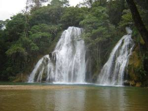 Waterfalls with pools abound in the Huasteca