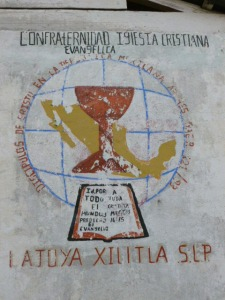 La Joya Church sign