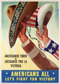 WWII poster promoting the Bracero Program