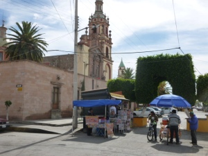 The Plaza Cathedral of Soledad de Graciano Sanchez