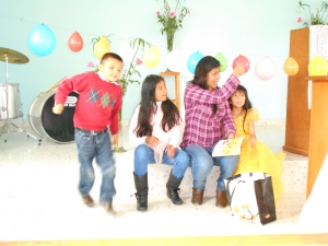 Children's moment--Los Retes