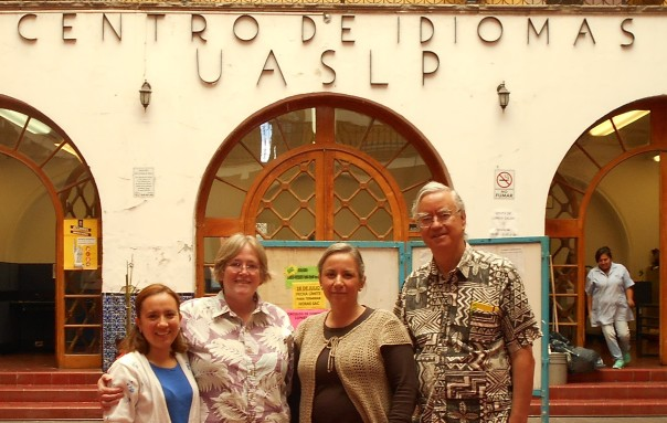 Maestra Lupita, Jerri Handy, Anna from the language school (Centro de Idiomas), Doug Smith