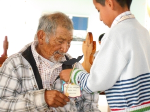 Inter-generational activity celebrating Fathers Day