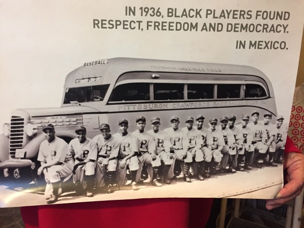 During the decades of segregated baseball in the U.S., which lasted until 1947, many of the all black teams went to Mexico to compete during the winter months.
