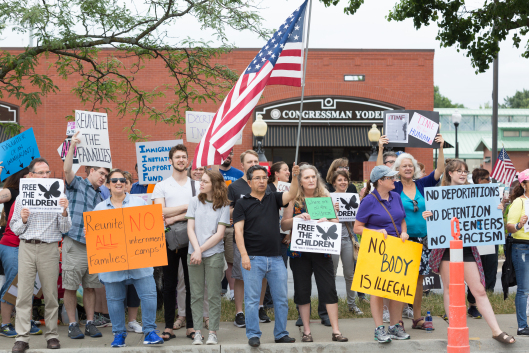yoder protest from show me progress