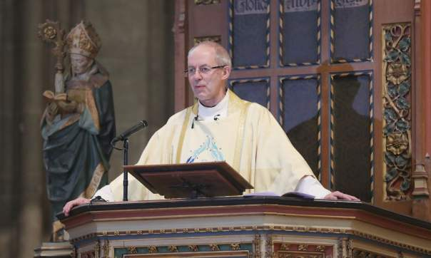 "Archbishop Justin Welby of Canterbury denounced ""populist leaders that deceive"" in his Christmas sermon following Trump's election"